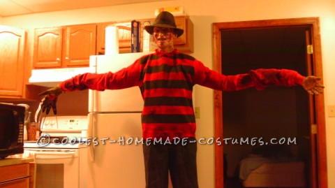 Creepy Nightmare on Elm Street Freddy Krueger Costume