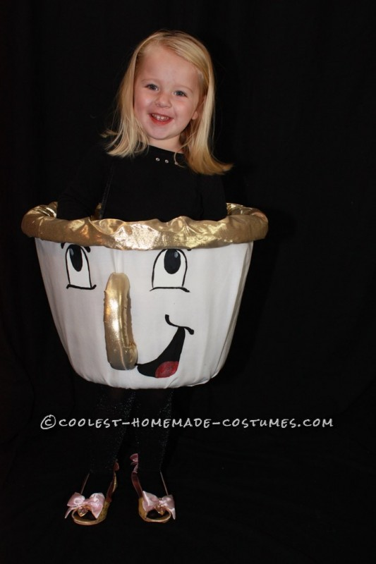 Cool Homemade Costume for a Girl: A Very Determined Little Chip