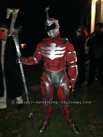 Coolest Homemade Power Rangers Costume: All Hail Lord Zedd!