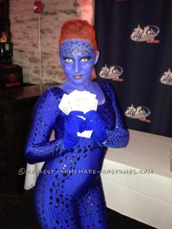 Amazing Homemade Mystique Costume