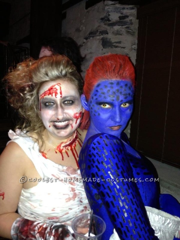 Amazing Homemade Mystique Costume