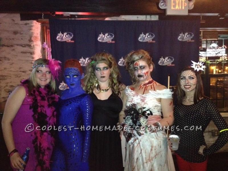 Amazing Homemade Mystique Costume - 2
