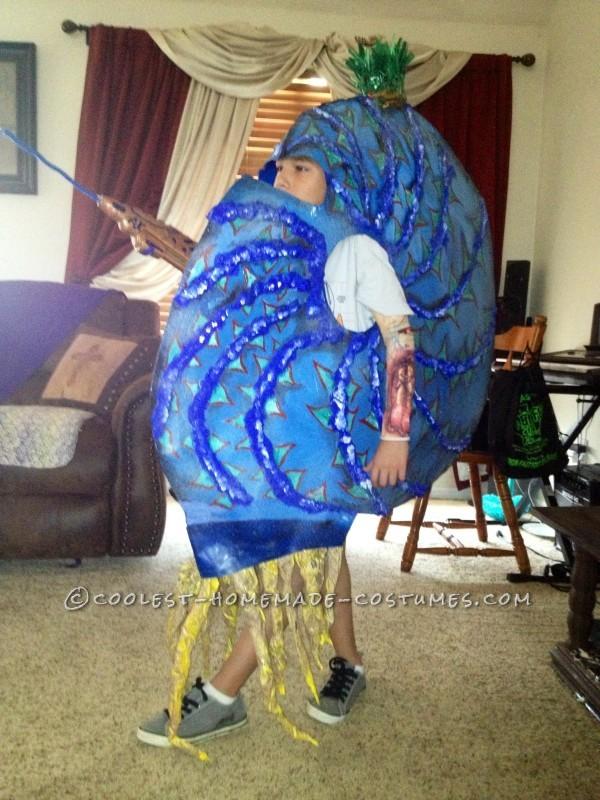 Original Homemade Costume Idea: Ammonite King - 1