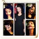 Artist Living Dead Girl Nicole Transforms into the Black Dahlia (Elizabeth Short)