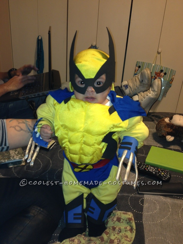 Awesome Baby Wolverine Costume