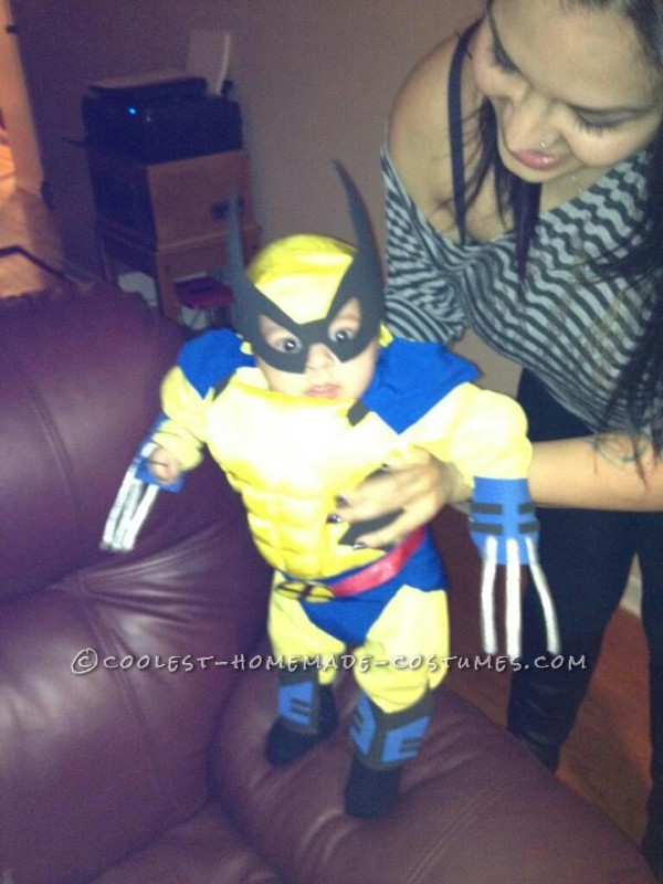 Awesome Baby Wolverine Costume - 2