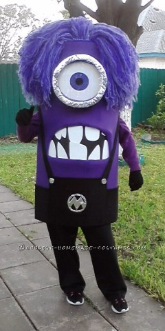 Awesome Homemade Purple Minion Costume