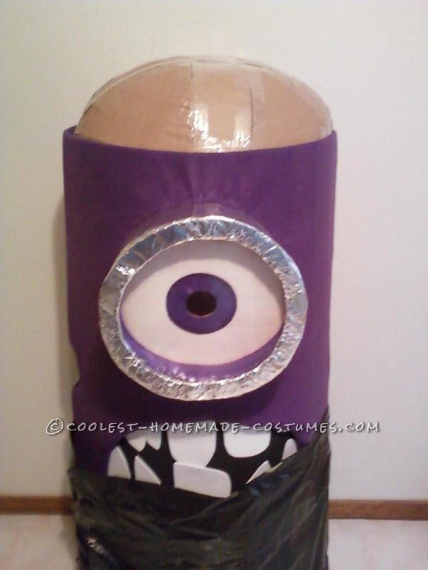 Awesome Homemade Purple Minion Costume - 1