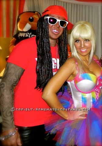 Best Nicki Minaj and Lil Wayne Couples Costume