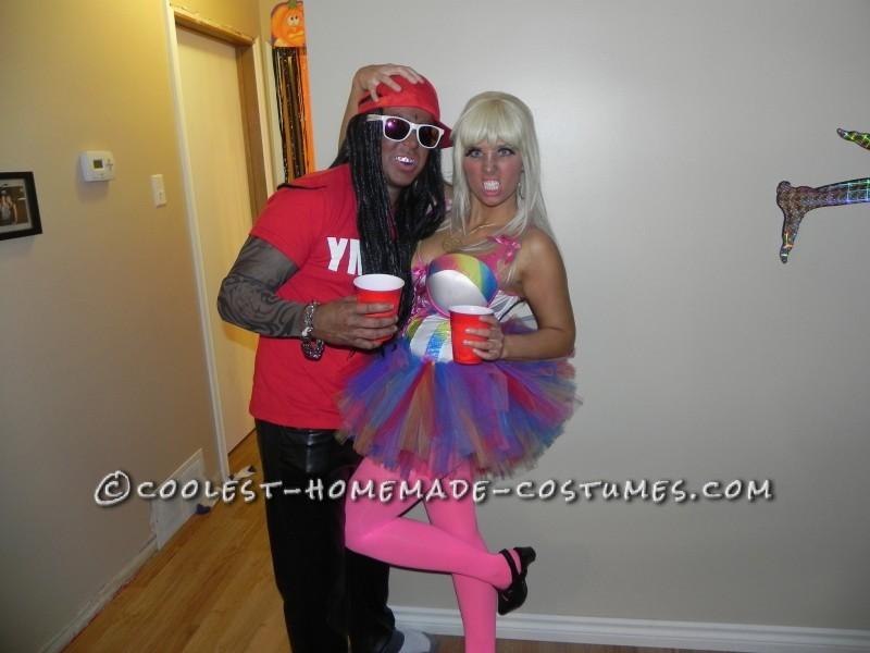 Best Nicki Minaj and Lil Wayne Couples Costume - 4