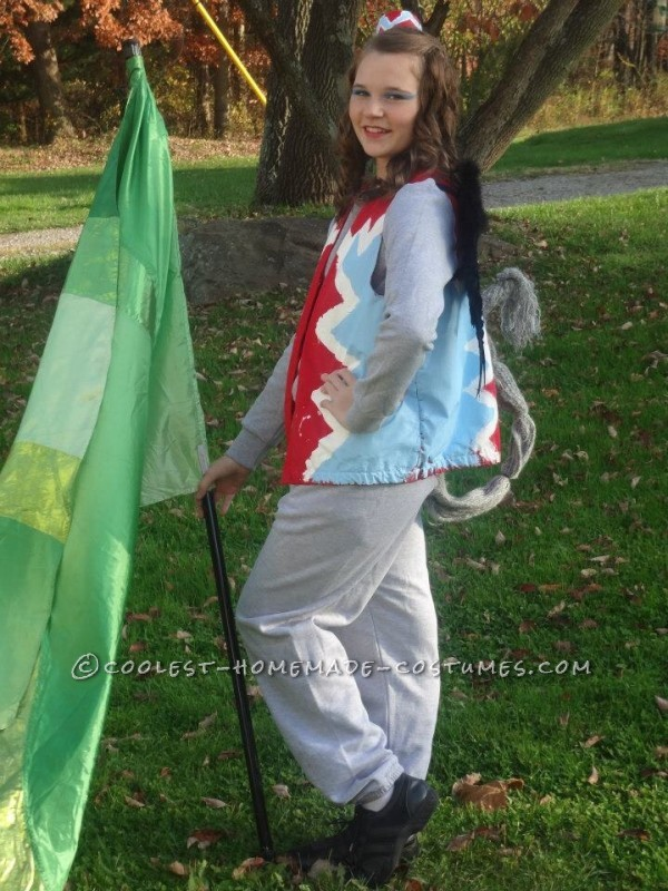 Awesome, Cute and Easy Homemade Flying Monkey Costume