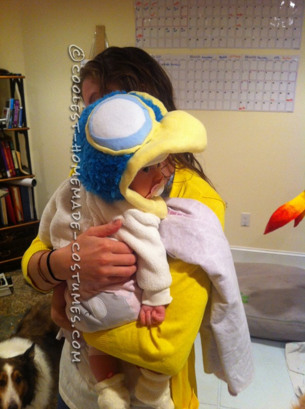 Cool Homemade Baby Snipe Costume from the movie UP!