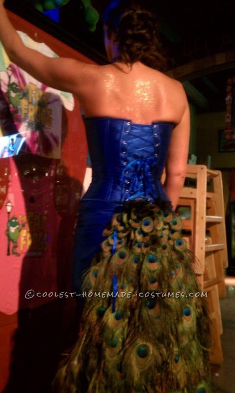Bartender-Friendly Peacock Costume - 1