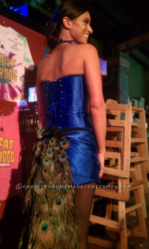 Bartender-Friendly Peacock Costume - 3