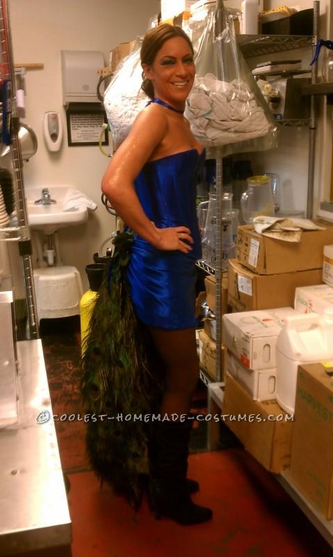 Bartender-Friendly Peacock Costume - 2