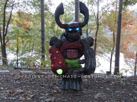 Awesome Tree Rex (Skylanders) Costume for a 5 Year Old Boy