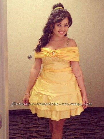 Beautiful Homemade Costume Idea: Beauty and the Beast's Princess Belle