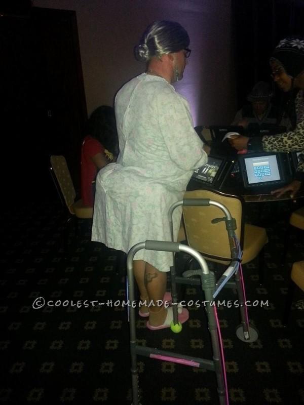 Homemade Bedtime Granny Costume - 1