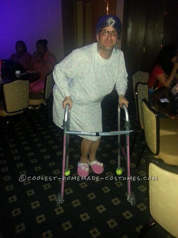 Homemade Bedtime Granny Costume