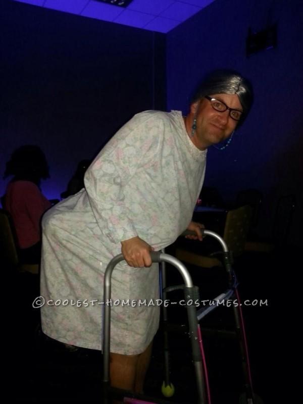 Homemade Bedtime Granny Costume - 2
