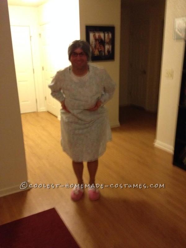 Homemade Bedtime Granny Costume - 3