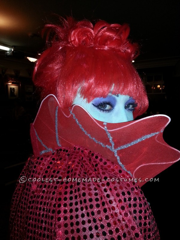 Coolest DIY Beetlejuice Miss Argentina Costume - 3