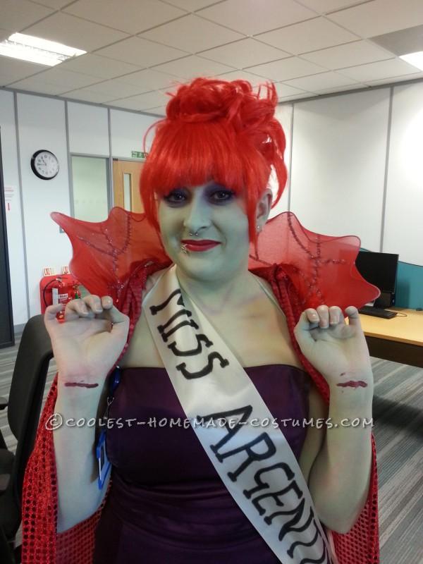 Coolest DIY Beetlejuice Miss Argentina Costume - 2
