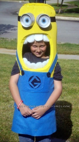 Best DIY Minion Costume Ever!