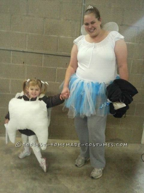 Best Ever Tooth Fairy and Tooth Mom and Daughter Couple Costume