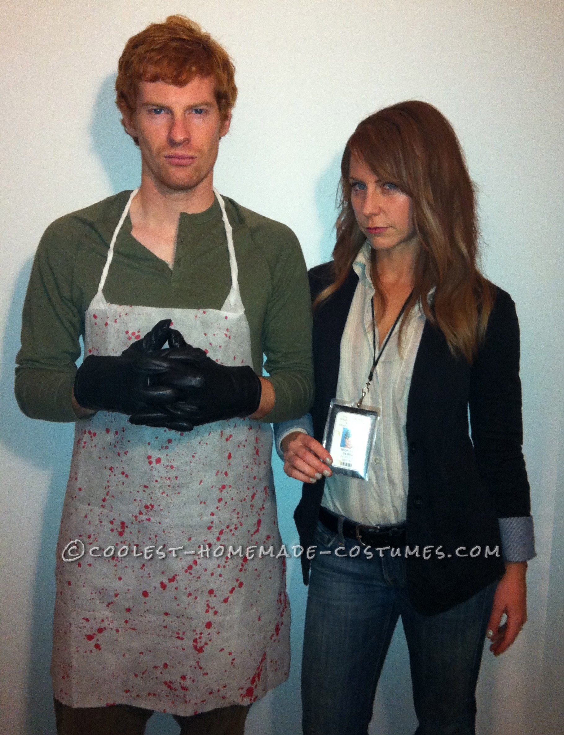 Best Homemade Dexter Couple Costume