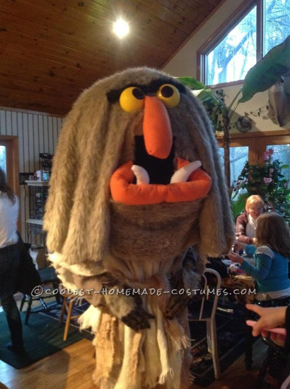 Best Homemade Muppet Costume: Sweetums - 1