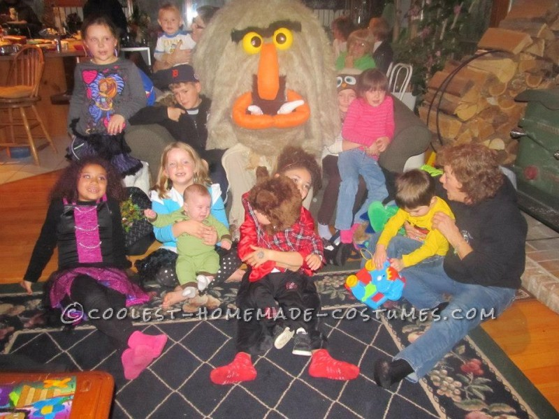 Best Homemade Muppet Costume: Sweetums - 2