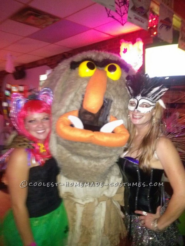 Best Homemade Muppet Costume: Sweetums - 3