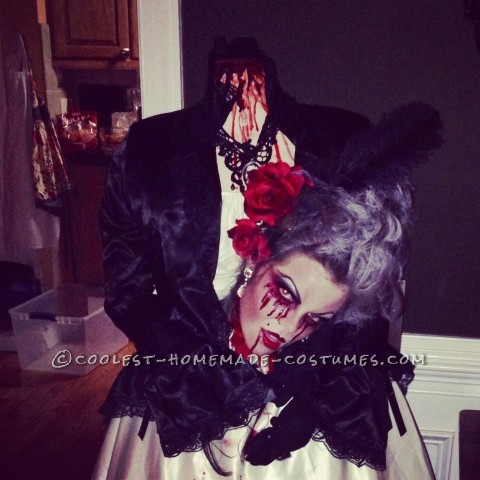Bloody Headless Marie Antoinette Costume