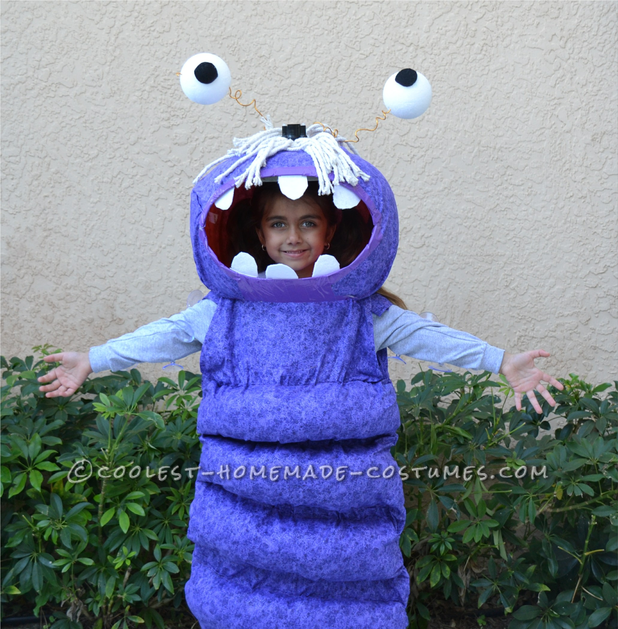 Coolest Homemade BOO Costume for a Child