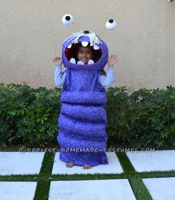 Coolest Homemade BOO Costume for a Child - 2