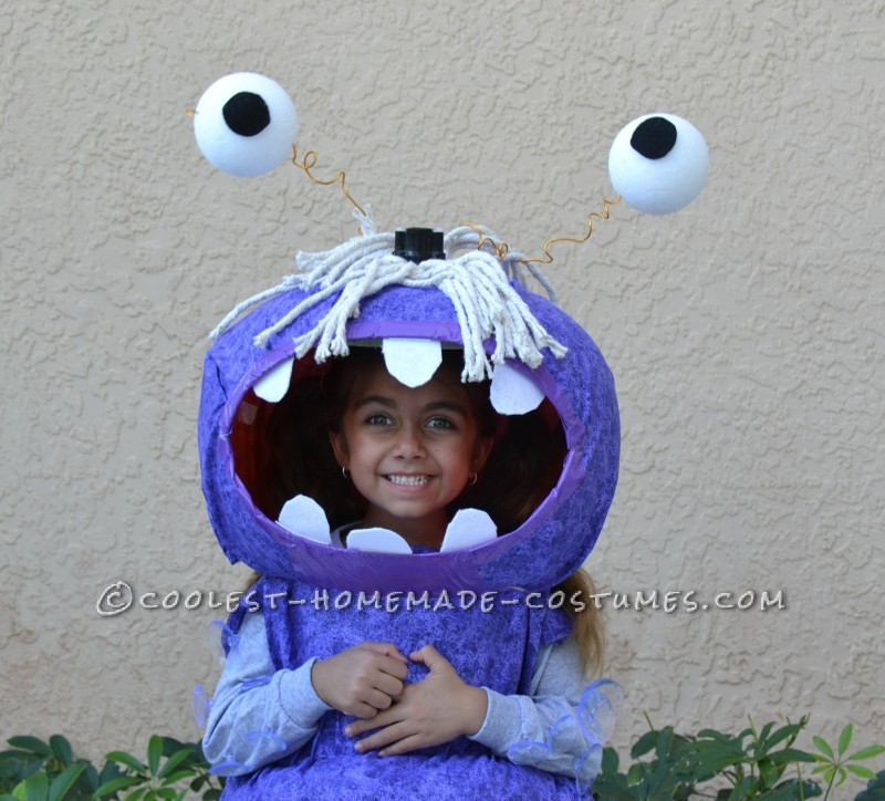 Coolest Homemade BOO Costume for a Child - 4