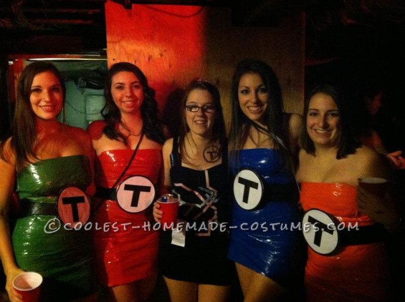 Sexy All-Girl Group Costume