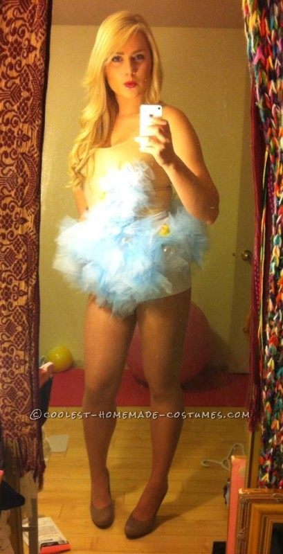 "Sexy ""Bubble Trouble"" Costume Idea for a Woman"