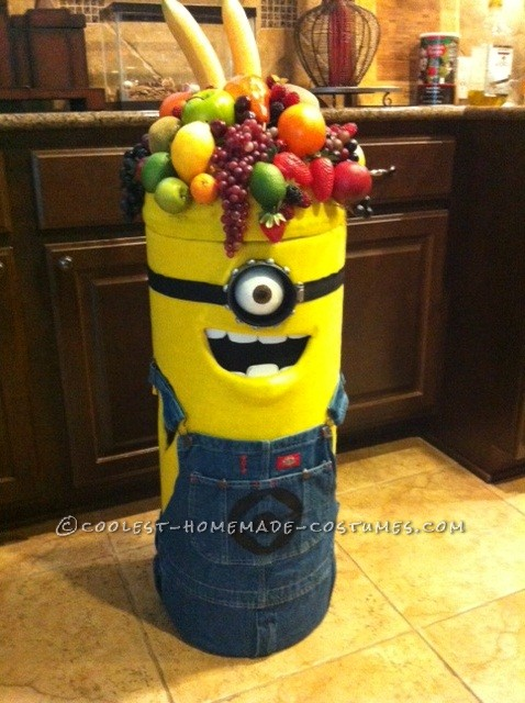 Coolest Carl the Minion Costume for a Toddler