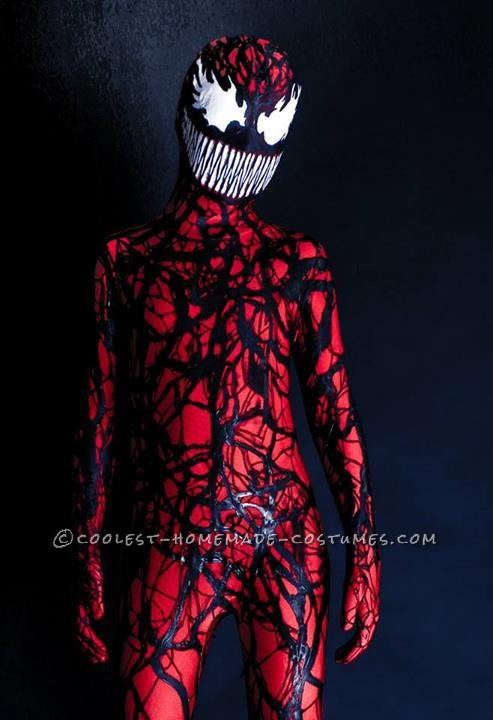 Coolest Homemade Carnage Spiderman Villain Costume