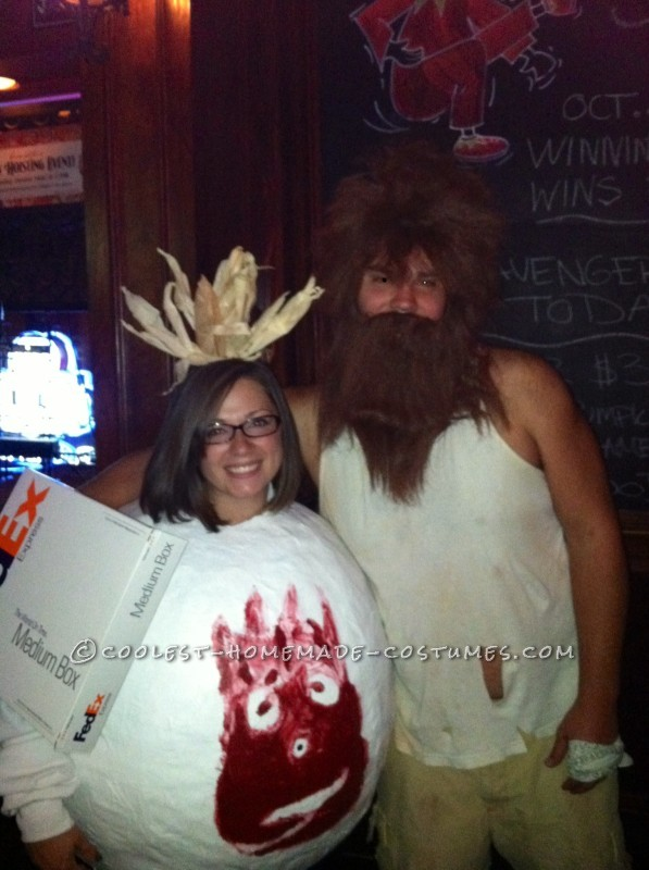 Unique Castaway Couple Costume