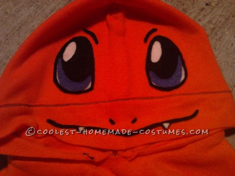 Cool DIY Charmander from Pokemon Hoodie Costume - 6