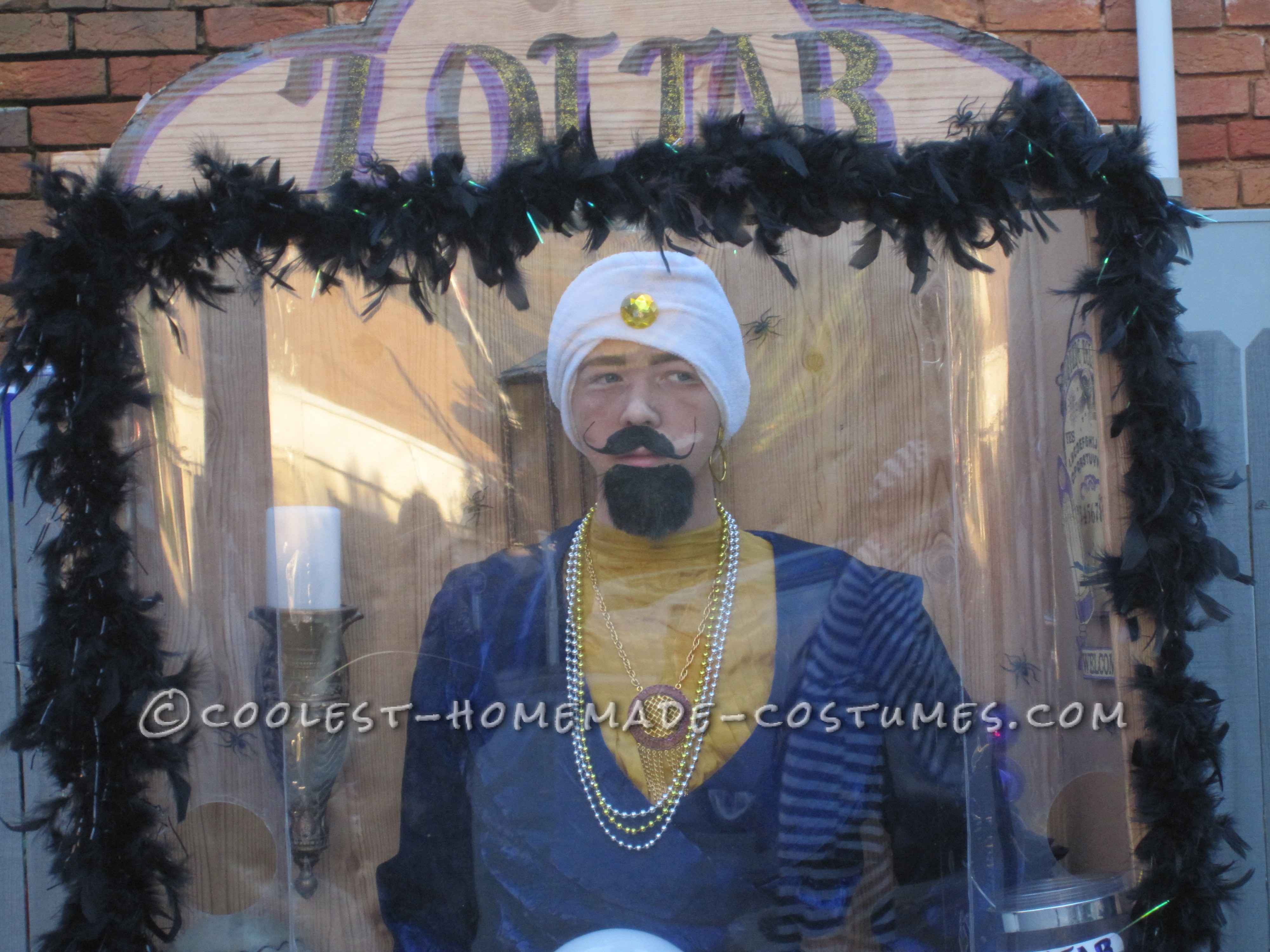 Cheap and Easy Zoltar Fortune Telling Costume