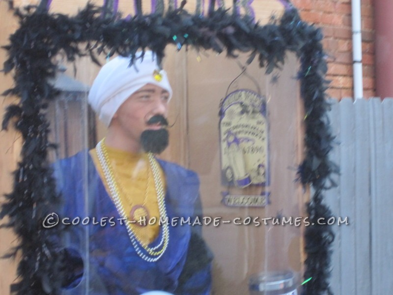 Cheap and Easy Zoltar Fortune Telling Costume - 2