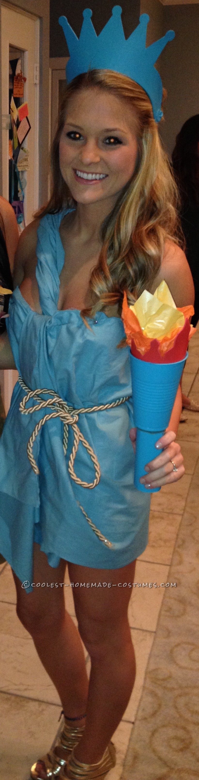 Cheap and Sexy Lady Liberty Costume