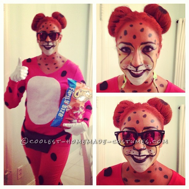 Cool Homemade Halloween Costume Idea: Chester the Cheetos Cheetah