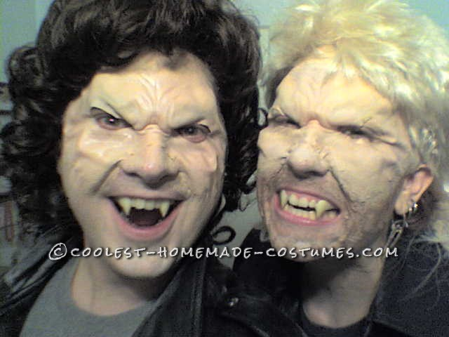 """Coolest Michael vs David Couples Costume from """"The Lost Boys"""" Movie - 1"""