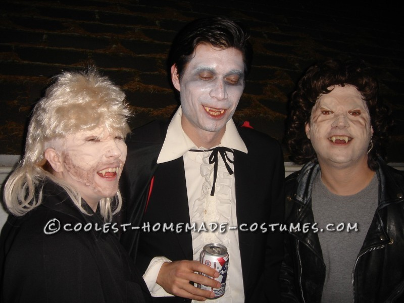 """Coolest Michael vs David Couples Costume from """"The Lost Boys"""" Movie - 2"""