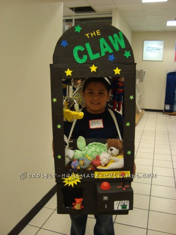 Coolest DIY Claw Machine Arcade Game Costume